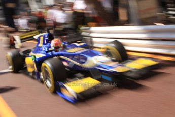 World © Octane Photographic Ltd. Friday 23rd May 2014. GP2 Feature Race – Monaco, Monte Carlo. Felipe Nasr - Carlin. Digital Ref : 0963CB7D5134