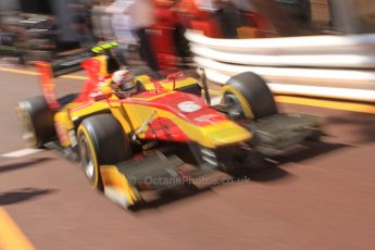 World © Octane Photographic Ltd. Friday 23rd May 2014. GP2 Feature Race – Monaco, Monte Carlo. Stefano Coletti - Racing Engineering. Digital Ref : 0963CB7D5135