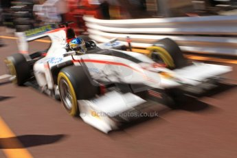 World © Octane Photographic Ltd. Friday 23rd May 2014. GP2 Feature Race – Monaco, Monte Carlo. Adrian Quaife-Hobbs - Rapax. Digital Ref : 0963CB7D5137
