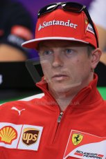 World © Octane Photographic Ltd. Wednesday 21st May 2014. Monaco - Monte Carlo - Formula 1 Drivers' Press Conference. Kimi Raikkonen - Scuderia Ferrari. Digital Ref : 0955lb1d3323