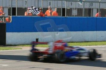 World © Octane Photographic Ltd. Protyre Formula Renault Championship. June 1st 2014.  Race 2 – Castle Donington. Pietro Fittipaldi takes the win – MGR Motorsport. Digital Ref :  0975CB1D0803