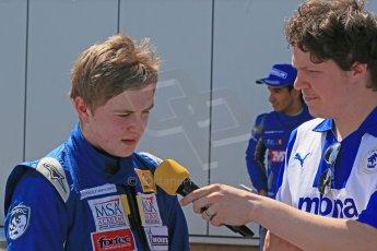 World © Octane Photographic Ltd. Protyre Formula Renault Championship. June 1st 2014.  Race 2 – Castle Donington.  Alex Gill - Fortec Motorsports. Digital Ref : 0975CB1D0832