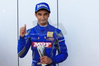 World © Octane Photographic Ltd. Protyre Formula Renault Championship. June 1st 2014.  Race 2 – Castle Donington. Tarun Reddy – MGR Motorsport. Digital Ref : 0975CB1D0855