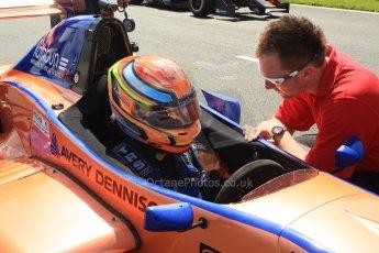 World © Octane Photographic Ltd. Protyre Formula Renault Championship. June 1st 2014.  Race 2 – Castle Donington. Travis Jordan (TJ) Fischer – Cliff Dempsey Racing. Digital Ref : 0975CB1D8904