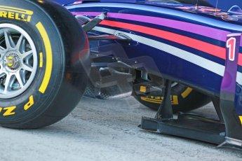 World © Octane Photographic Ltd. 2014 Formula 1 Winter Testing, Circuito de Velocidad, Jerez. Tuesday 27th January 2014. Day 1. Infiniti Red Bull Racing RB10 launch. Digital Ref: 0885cb1d9230