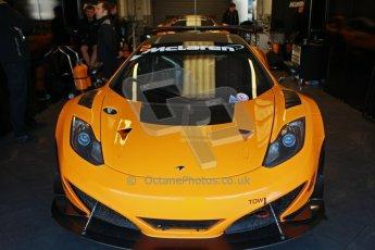 World © Octane Photographic Ltd. 21st March 2014. Silverstone - General Test Day. McLaren MP4-12C GT3. Digital Ref : 0896cb1d3743