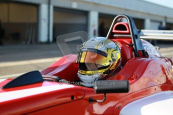 World © Octane Photographic Ltd. 21st March 2014. Silverstone - General Test Day. Gustavo Lima - Hillspeed - BRDC F4 Championship (Formula 4). Digital Ref : 0896cb1d3811