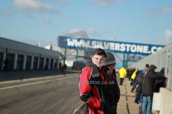 World © Octane Photographic Ltd. 21st March 2014. Silverstone - General Test Day. Kieran Vernon - Race Instructor. Digital Ref : 0896cb1d3923