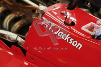 World © Octane Photographic Ltd. 21st March 2014. Silverstone - General Test Day. Tom Jackson - Chris Dittmann. Digital Ref : 0896cb1d4067