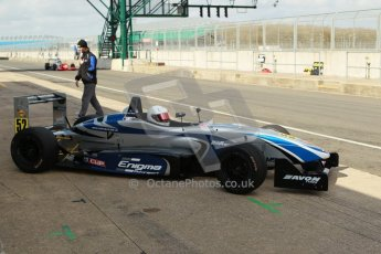 World © Octane Photographic Ltd. 21st March 2014. Silverstone - General Test Day. Enigma Motorsport - F3 Cup. Digital Ref : 0896cb1d4217