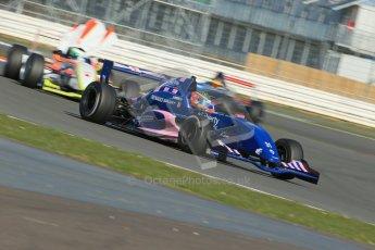 World © Octane Photographic Ltd. 21st March 2014. Silverstone - General Test DaySeb Morris - Fortec Motorsports. Formula Renault 2.0 Northern European Championship (NEC). Digital Ref : 0896lb1d6500