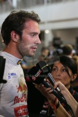 World © Octane Photographic Ltd. Saturday 20th September 2014, Singapore Grand Prix, Marina Bay. - Formula 1 Qualifying Paddock. Scuderia Toro Rosso STR9 - Jean-Eric Vergne. Digital Ref: 1125LB1D2798