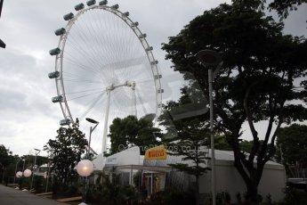 World © Octane Photographic Ltd. Saturday 20th September 2014, Singapore Grand Prix, Marina Bay. Formula 1 Paddock. Digital Ref: 1122CB1D8181
