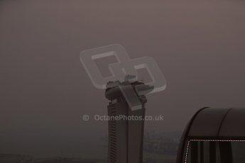 World © Octane Photographic Ltd. Wednesday 17th September 2014, Singapore Grand Prix, Marina Bay. Formula 1 Setup and atmosphere. The Singapore skyline at sunset. Digital Ref: 1115LB1D8800