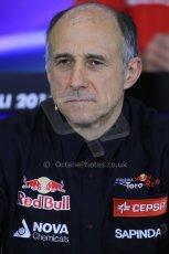World © Octane Photographic Ltd. Friday 9thMay 2014. Franz Tost - Toro Rosso. Digital Ref :