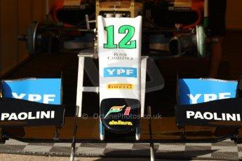 World © Octane Photographic Ltd. Friday 9th May 2014. GP2 Practice – Circuit de Catalunya, Barcelona, Spain. Facu Regalia - Hilmer Motorsport. Digital Ref:0927cb7d8679