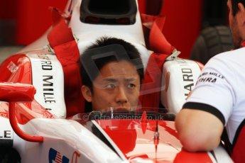 World © Octane Photographic Ltd. Friday 9th May 2014. GP2 Practice – Circuit de Catalunya, Barcelona, Spain. Takuya Izawa - ART Grand Prix. Digotal Ref : 0927cb7d8724