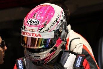 World © Octane Photographic Ltd. Friday 9th May 2014. GP2 Practice – Circuit de Catalunya, Barcelona, Spain. Takuya Izawa - ART Grand Prix. Digotal Ref : 0927cb7d9011