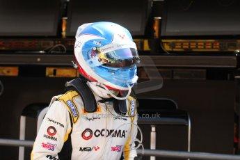 World © Octane Photographic Ltd. Friday 9th May 2014. GP2 Practice – Circuit de Catalunya, Barcelona, Spain. Jolyon Palmer - DAMS – Digital Ref : 0927cb7d9028