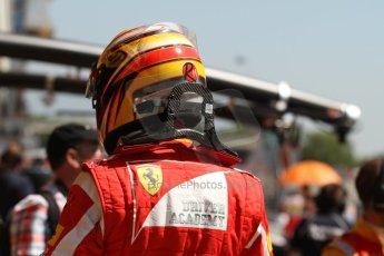 World © Octane Photographic Ltd. Friday 9th May 2014. GP2 Practice – Circuit de Catalunya, Barcelona, Spain. Raffaele Marciello - Racing Engineering. Digital Ref : 0927cb7d9034