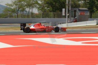 World © Octane Photographic Ltd. Friday 9th May 2014. GP2 Practice – Circuit de Catalunya, Barcelona, Spain. Rene Binder - Arden International. Digital Ref : 0927lb1d3243