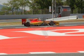 World © Octane Photographic Ltd. Friday 9th May 2014. GP2 Practice – Circuit de Catalunya, Barcelona, Spain. Raffaele Marciello - Racing Engineering. Digital Ref : 0927lb1d3253