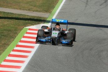 World © Octane Photographic Ltd. Friday 9th May 2014. GP2 Practice – Circuit de Catalunya, Barcelona, Spain. Facu Regalia - Hilmer Motorsport. Digital Ref:0927lb1d4652
