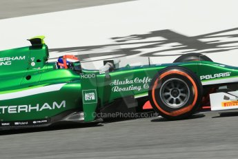 World © Octane Photographic Ltd. Friday 9th May 2014. GP2 Practice – Circuit de Catalunya, Barcelona, Spain. Alexander Rossi - EQ8 Caterham Racing. Digital Ref : 0927lb1d4707
