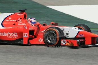 World © Octane Photographic Ltd. Friday 9th May 2014. GP2 Practice – Circuit de Catalunya, Barcelona, Spain. Rene Binder - Arden International. Digital Ref : 0927lb1d4729