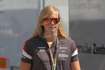 World © Octane Photographic Ltd. Friday 9th May 2014. GP3 Practice  – Circuit de Catalunya, Barcelona, Spain. beitske visser - Hilmer Motorsport. Digital Ref :