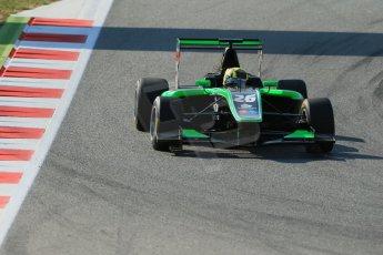 World © Octane Photographic Ltd. Friday 9th May 2014. GP3 Practice  – Circuit de Catalunya, Barcelona, Spain. Nick Yelloly - Status Grand Prix. Digital Ref :