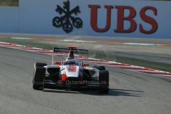 World © Octane Photographic Ltd. Friday 9th May 2014. GP3 Practice  – Circuit de Catalunya, Barcelona, Spain. Dino Zamparelli - ART Grand Prix. Digital Ref :