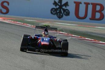 World © Octane Photographic Ltd. Friday 9th May 2014. GP3 Practice  – Circuit de Catalunya, Barcelona, Spain. Emil Bernstorff - Carlin. Digital Ref :