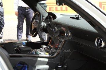 World © Octane Photographic Ltd. Mercedes SLS AMG F1/GP2/GP3 Safety Car. Digital Ref : 0939cb7d0119