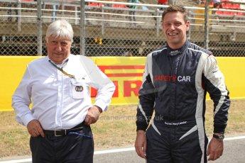 World © Octane Photographic Ltd. Mercedes SLS AMG F1/GP2/GP3 Safety Car - Bernd Maylander and Herbie Blash. Digital Ref : 0939cb7d0132
