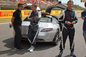 World © Octane Photographic Ltd. Mercedes SLS AMG F1/GP2/GP3 Safety Car. Digital Ref : 0939cb7d0137