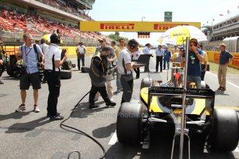 World © Octane Photographic Ltd. Saturday 10th May 2014. GP2 Race 1 – Circuit de Catalunya, Barcelona, Spain. Jolyon Palmer - DAMS. Digital Ref :