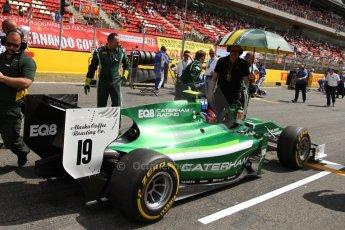World © Octane Photographic Ltd. Saturday 10th May 2014. GP2 Race 1 – Circuit de Catalunya, Barcelona, Spain. Alexander Rossi - EQ8 Caterham Racing. Digital Ref :