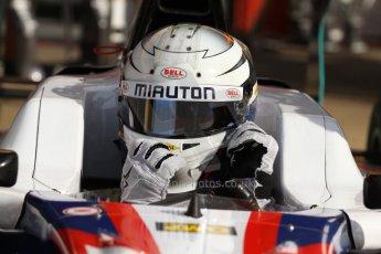 World © Octane Photographic Ltd. Saturday 10th May 2014. GP3 Qualifying – Circuit de Catalunya, Barcelona, Spain. Matheo Tuscher - Jenzer Motorsport. Digital Ref :