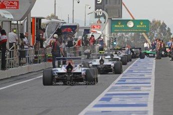 World © Octane Photographic Ltd. Saturday 10th May 2014. GP3 Qualifying – Circuit de Catalunya, Barcelona, Spain. The session goes live. Digital Ref :