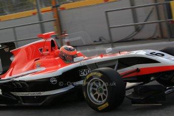 World © Octane Photographic Ltd. Saturday 10th May 2014. GP3 Qualifying – Circuit de Catalunya, Barcelona, Spain. Dean Stoneman - Marussia Manor Racing. Digital Ref :