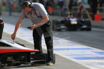 World © Octane Photographic Ltd. Saturday 10th May 2014. GP3 Qualifying – Circuit de Catalunya, Barcelona, Spain. Patrick Kujala - Marussia Manor Racing and Pirelli. Digital Ref :