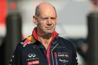 World © Octane Photographic Ltd. Saturday 10th May 2014. Circuit de Catalunya - Spain - Formula 1 Practice 3. Infiniti Red Bull Racing RB10 -  Adrian Newey . Digital Ref: 0933lb1d6569