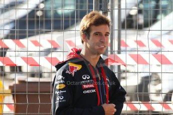 World © Octane Photographic Ltd. Saturday 10th May 2014. Circuit de Catalunya - Spain - Formula 1 Practice 3. Infiniti Red Bull Racing RB10 – Antonio Felix de Costa – Reserve Driver. Digital Ref: 0935cb7d9393