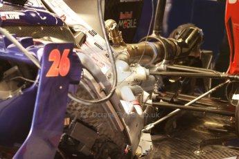 World © Octane Photographic Ltd. Saturday 10th May 2014. Circuit de Catalunya - Spain - Formula 1 Practice 3. Scuderia Toro Rosso STR 9 detail. Digital Ref: 0935cb7d9611