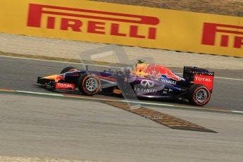 World © Octane Photographic Ltd. Saturday 10th May 2014. Circuit de Catalunya - Spain - Formula 1 Practice 3. Infiniti Red Bull Racing RB10 – Daniel Ricciardo. Digital Ref: 0935lb1d3559