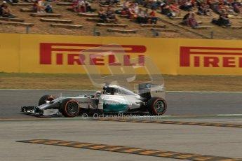 World © Octane Photographic Ltd. Saturday 10th May 2014. Circuit de Catalunya - Spain - Formula 1 Practice 3. Mercedes AMG Petronas F1 W05 Hybrid - Nico Rosberg. Digital Ref: 0935lb1d3568