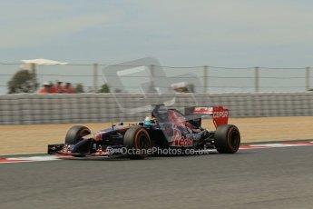 World © Octane Photographic Ltd. Saturday 10th May 2014. Circuit de Catalunya - Spain - Formula 1 Practice 3. Scuderia Toro Rosso STR9 - Jean-Eric Vergne. Digital Ref: 0935lb1d3707