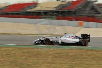 World © Octane Photographic Ltd. Saturday 10th May 2014. Circuit de Catalunya - Spain - Formula 1 Practice 3. Williams Martini Racing FW36 – Valtteri Bottas Digital Ref: 0935lb1d3826