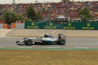 World © Octane Photographic Ltd. Saturday 10th May 2014. Circuit de Catalunya - Spain - Formula 1 Practice 3. Mercedes AMG Petronas F1 W05 Hybrid – Lewis Hamilton. Digital Ref: 0935lb1d3856